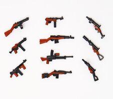 World War II Machine Rifle Hand Gun Military Toy Weapons for LEGOMinifigures!!