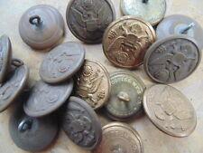 8 boutons capote 28mm seconde guerre ww2 US army deuxième guerre américain  GI