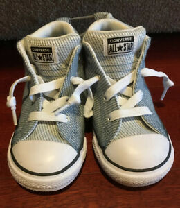 Converse Chuck Taylor All Star Street Mid Rise Storm Boys Toddler Sneaker US 9