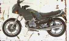 MotoGuzzi 750SP 1994 Aged Vintage SIGN A3 LARGE Retro