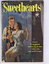 Sweethearts #74 Fawcett Pub 1949