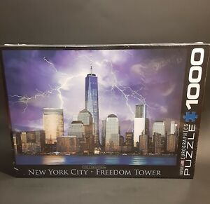 Eurographics puzzle New York City•Freedom Tower 1000 piece puzzle New