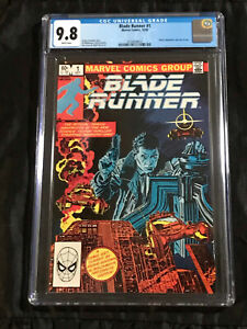 Blade Runner #1 CGC 9.8 NM/MT - WHITE Pages 1982 Marvel Comics PERFECT COPY!!