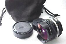 Nikon Ai-s Fisheye-Nikkor 16mm F/2.8 Ultra Wide Angle From Japan #P36