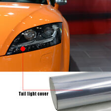 "12""x 39"" Light Black Chameleon Car Headlight Taillight Fog Light Vinyl Tint Film"