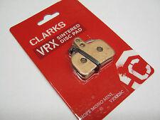 Clarks VRX826C Hope Mono Mini Disc Pads Sintered Brake Pad One Set Pair