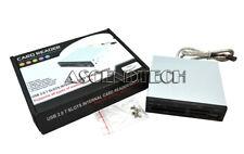 "INTERNAL 3.5"" M2 XD CF/MD SD/MMC MS MICRO SD USB2.0 FLASH MEMORY PC CARD READER"