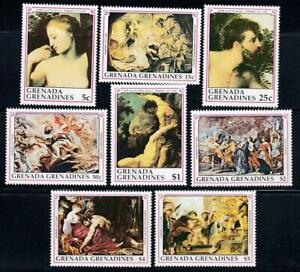 👉 GRENADA-GR. 1991 RUBENS PAINTINGS MNH BIBLE, JUDAICA (too expensive??)