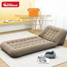 Camping Inflatable Mattress Adjustable Backrest Inflatable Recliner Air Sofa