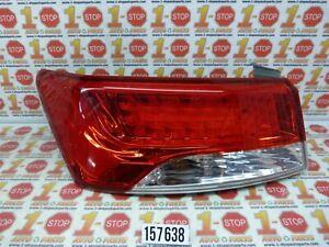 10 11 12 13 KIA FORTE COUPE SX LED DRIVER LEFT SIDE TAIL LIGHT LAMP OEM