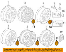 VW VOLKSWAGEN OEM 12-16 Jetta Wheel-Center Cap Hub Cover 1K0601149EQZQ