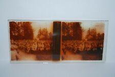 PLAQUE VERRE STEREO GUERRE 14 / 18 FROVIL CONCERT
