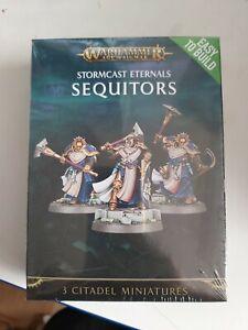 Warhammer age of sigmar : STORMCAST ETERNALS SEQUITORS free postage damaged box