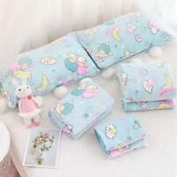 Cute Cartoon Little Twin Stars Anime Soft Flannel Blanket Throw Plush Smooth