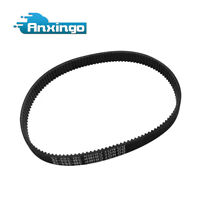 3x Drive Belt Revolution HTD Replacement for Electric Scooter and Scooter