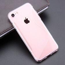 Fundas y carcasas transparente de silicona/goma para teléfonos móviles y PDAs LG