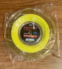 Yonex Poly Tour Pro 16L Reel (1.25mm Tennis String) Yellow New, Full 200m 656ft