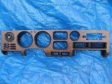 Toyota Celica Dash Speedometer Instrument Cluster Bezel Vent + Radio Panel 78-81