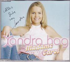 Xandra Hag-Madame Tarot cd maxi single gesigneerd