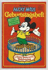 MICKY MAUS - Geburtstagsheft 1978