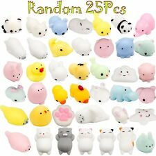 25 Mochi Animals Stress Squishy Toy Mini Animal Toys Lot Squishies Package Soft