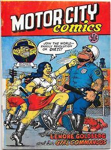 Motor City Comics #1, R. Crumb 1969 1st printing Fine-