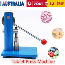 10mm Tablet Press Machine Manual Powder Hand Pressing Pill Making Home Lab Use