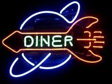 """New Rocket Diner Restaurant Beer Neon Light Sign 17""""x14"""""""