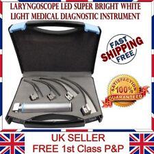 NJ LMS Laryngoscope LED Super Bright White Light Medical Diagnostic Instrument