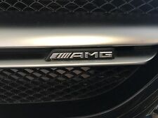 Mercedes-Benz W117 CLA W176 A45 GLA 45 W205 C63 W212 E63 AMG Grille Badge Logo