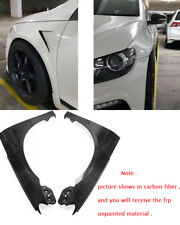 For VW Scirocco FRP Single Vented Front Fender wide body kit +15mm Mud guards
