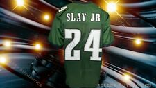 Philadelphia Eagles Darius Slay Autographed Pro Style Green Jersey JSA Cert