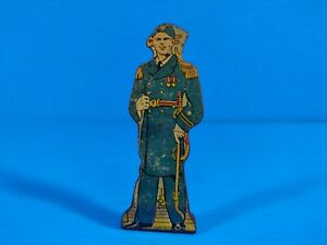 Marx Tin Lithograph Toy - Captain Commands Battleship 100 pts Soldier of Fortune