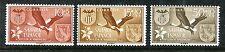 Spanish Sahara B45-B47 MNH Valencia 3v Birds, Coat of Arms 1958. x17167