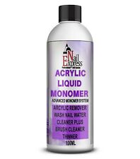 Acrylic Liquid Monomer Professional Salon Quality Acrylic Nails Art UK 100ML