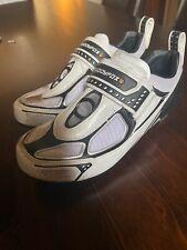 Junior Muddyfox Tri100 Black Cycling Shoes UK 4 EU 37