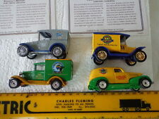 MATCHBOX GREAT AMERICAN MICRO BREWERIES COLLECTION FISH-WEIDMANS-GATOR -PACIFIC