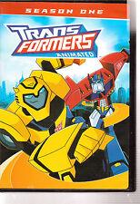 Transformers Animated - Season One (DVD, 2008) LIKE NEW RARE OOP