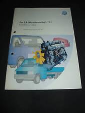 SSP 197 VW LT 2,8 l Diesel Motor Konstruktion Funktion