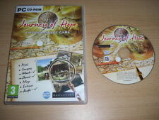 JOURNEY OF HOPE  Pc Cd Rom  Hidden Object - FAST DISPATCH