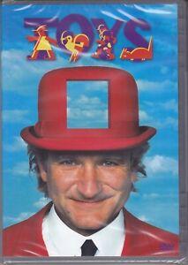 Dvd TOYS con Robin Williams nuovo 1993