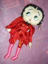 "Kellytoy Red Devil Betty Boop 16.5"" Plush Doll with Tag~1999"