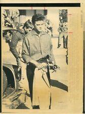 MICHAEL ST GERARD ELVIS ELVIS PRESLEY RARE ORIGINAL 1989 ABC TV PRESS MATERIAL