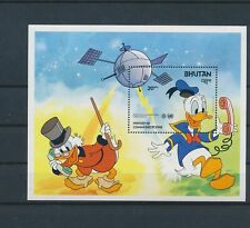 LL92853 Bhutan Donald Duck disney good sheet MNH