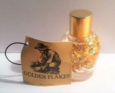 50 mm Tall Bottle of Golden Flakes Great for display or Gift