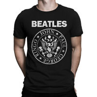 The Beatles Ramones Style T-Shirt, Men's Women's All Sizes
