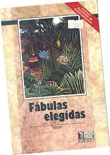 LIBRO FÁBULAS ELEGIDAS DE ESOPO, EN ESPAÑOL
