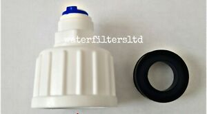 """Reverse Osmosis RO Garden tap Connector 3/4"""" BSP to 3/8"""" Push Fit Water Filter"""