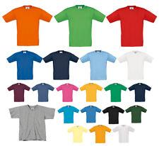 Kinder T-Shirt Rundhals Jungen Mädchen T-Shirt 86 - 164