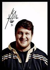 Matthias Steiner Foto  20x30 Original Sign Olympiasieger Gewichtheben +G 15992